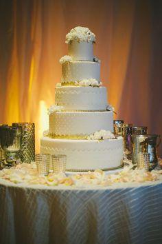 Fabulous cake! Photography by Sarah Maren Photography.