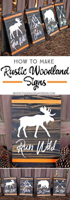 How to Make Rustic W
