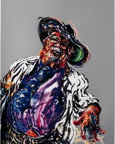 George Melly Singing by Maggi Hambling 2006 Maggi Hambling, Modern Art, Contemporary Art, Gcse Art, Album Covers, Past, Fine Art Prints, Art Gallery, Artists