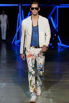 Roberto Cavalli Spring-Summer 2015 Men's Collection