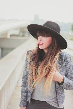 Tweed + leather   FRINGE&FRANGE