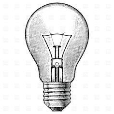 bulb drawing pencil bulbs lightbulb tattoo lamp della easy drawings sketch graphicriver mano creative ingranaggio tenuta simbolo ingegnere vettore dell