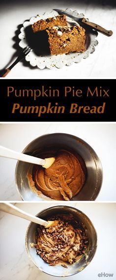 This quick pumpkin bread is made on pumpkin pie mix, making it easy to prepare and even easier to make. The hardest part about this recipe is waiting for it to bake! The bread fills the air with a richly spiced and delicious scent, and it has the most comforting and homely taste too. It's the ideal bread to bake for fall and winter. Recipe here…