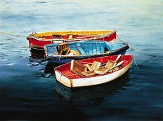 "Comogli_Trio[1] by laurie chase Oil ~ 16"" x 20""Medium: Oil on Canvas Size: 16"" x 20""  Availability: Av"