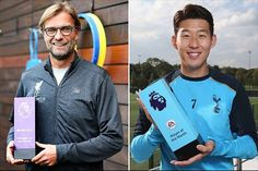 Liverpool's Juergen Klopp has been named Premier League manager of the month after leading the club to three consecutive wins in September, the first time the German has won the award.