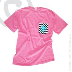 ALPHA DELTA PI CUSTOM GROUP ORDER ON CHEVRON SEWN ON POCKET SHIRTS WITH MONOGRAM ADPI!! LOVE THESE SHIRTS!