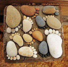 Pies de piedras