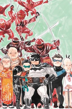 Lil Gotham by Dustin Nguyen