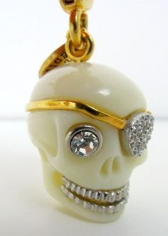 NEW Juicy Couture 2010 LIMITED EDITION GRINNING SKULL   Charm AUTHENTIC