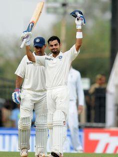 Birat Kohil 100 in test match