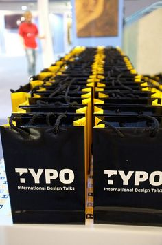 TYPO London: Goodie Bags http://typotalks.com/london/