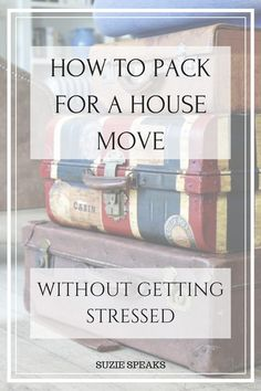 How to Pack for a House Move Without Getting Stressed Packing for a. : How to Pack for a House Move Without Getting Stressed Packing for a house move Moving House Tips, Moving Home, Moving Day, Moving Tips, Moving Hacks, Organizing For A Move, Packing To Move, Packing Tricks, Packing Ideas