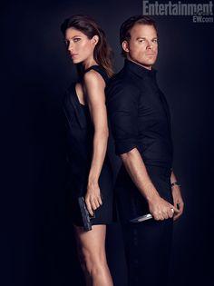 Dexter and Deb Morgan (Michael C. Hall and Jennifer Carpenter)