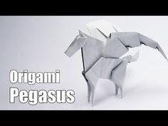 Origami Pegasus (Jo Nakashima) + Giveaway - YouTube
