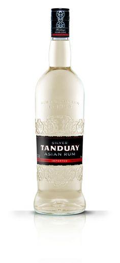 Tanduay AsianRum | #packaging #design