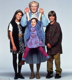 Mara Wilson made her big screen debut in another hit, Mrs Doubtfire, alongside Robin Williams