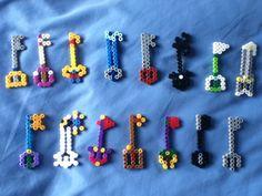 Kingdom Hearts key blades