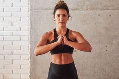 A personal Lana Pessoa mostra como fazer sequência que trabalha core, pernas e bumbum