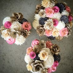Fuzzy Hedgehog - ecoflower.com - These are going to be so perfect for our wedding!!