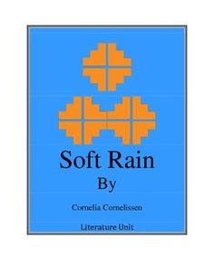 A complete Unit for the novel Soft Rain. This is a great lesson for studying The Trail of Tears and Cherokee Indians.The unit includes: - Introductory lesson-Vocabulary graphic organizer and foldable.-Questions for chapters, aligned with CCS-Culminating activity- Project list for students to choose and present to class.-Webquest linksEssential Standards for SS Study of NCCCS   for Literature 4.1, 4.3, 4.2, 4.6, 4.7, 4.9CCS Informational Text 4.3, 4.6