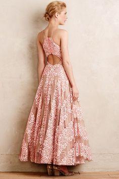 Cherry Blossom Gown - anthropologie.com