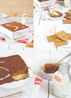 flan de chocolate y galletas / http://www.pecadosdereposteria.com/