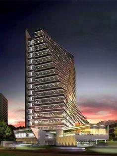 Corporativo Santa Fe, Arditti Arquitectos. Ciudad de Mexico