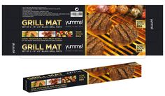 This mat is so easy to use. You simply lay it on the grill, heat your grill up and put down what food you want to grill.