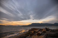 Sea and sky by Mengqiu Chen on Natural World, Chen, Wildlife, Sky, Celestial, Mountains, Sunset, Beach, Water