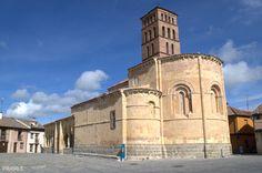 Iglesia de San Lorenzo. Siglo XII. Segovia