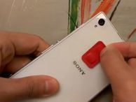 Air Button adds shortcut buttons to the back of your phone These small stick-ons can be programmed to perform any of over 30 tasks. And they don't require power.