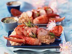 Pot Luck, Polenta, Seafood Recipes, Gourmet Recipes, Parfait, Tofu, Feta, Best Cookbooks, Tasty