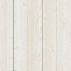 White Wood Panel Home Deco Peel-Stick Vinyl Self Adhesive Wallpaper
