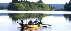 Fishing in never ending summerday photo © Rovaniemi Tourism & Marketing Ltd
