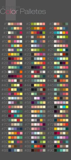 New Painting Palette Tattoo Color Schemes 63 Ideas Colour Pallette, Colour Schemes, Paint Color Combinations, Nail Color Combos, House Paint Color Combination, Color Swatches, Color Theory, Color Tattoo, Drawing Tips