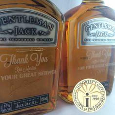 Custom engraved Jack Daniels