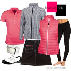 Golf OOTD: Knockout Pink