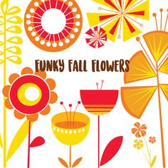 Fall flowers clipart, Premium flower clipart, Best flowers clipart ...