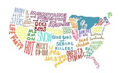 A well designed nation... I love this and want it in my office...even though it was clearly drawn by a Californian.