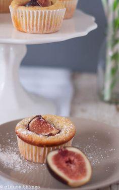 Clausa Things: Muffin mit Feige und Olivenöl