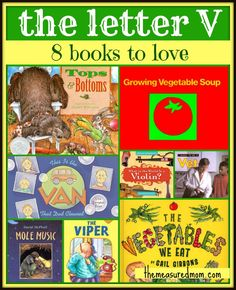 8 Letter V Books: A Letter of the Week Book List