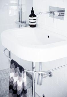 Merja, this is my bathroom sink, Happy D by Duravit, I LOVE it! :-)