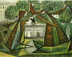 Square du Vert-Galant - Pablo Picasso, 1943.