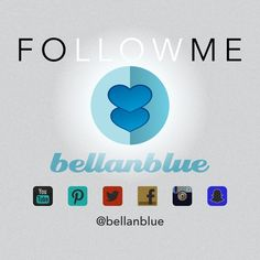 Follow Me... Get to know the girl behind BellanBlue. I'm a complete goof ball, food lover, down for whatever kind of girl. I love trying new things, meeting new people, all things blue & hello kitty. I would love to get to know you! Pls follow me on all my social media outlets. Let's grow 2gether! Jen Bellanblue Bags