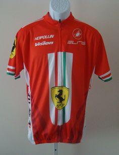 VISION RED MCIPOLLINI 2013 Cycling Jersey Size XXXL #MCIPOLLINI