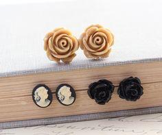https://www.etsy.com/listing/105622196/stud-earrings-black-rose-earrings?ga_order=most_relevant