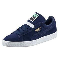 Puma - Men's Suede Classic + Low Sneaker - Peacoat
