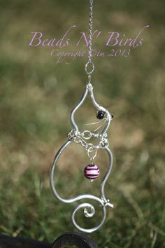Cat Window Jewels: Cat comes with a charm necklace and decorated hanging chain…