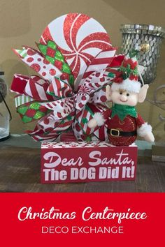 Find joy in creating a wonderful wreath or home decor project for your own door to gift or to sell. Join our group of like-minded people. BY DecoExchange / Damon Oates Christmas Centerpieces, Flower Centerpieces, Christmas Decorations, Holiday Decor, Christmas Elf, Christmas Wreaths, Christmas Ideas, Christmas Ornaments, Make Your Own Wreath
