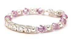 Personalized Baby Charm Bracelet – Al…